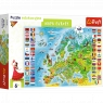 Puzzle edukacyjne 160: Mapa Europy (15558)
