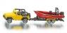 Siku 16 - Jeep z łodzią - Wiek: 3+ (1658)