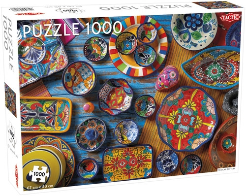 Puzzle 1000: Mexican Pottery