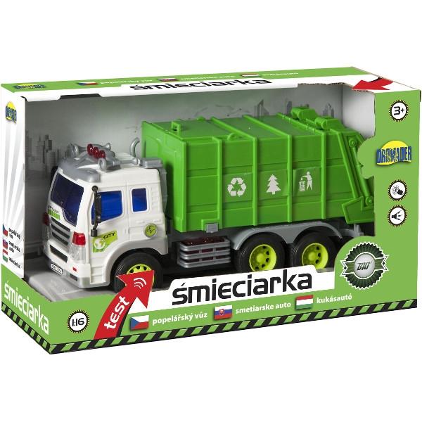 DROMADER Auto śmieciarka (00758)