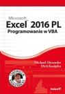 Excel 2016 PL. Programowanie w VBA. Vademecum Walkenbacha