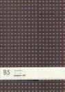 Notatnik B5 Paper-oh Quadro Grey on Orange w linie