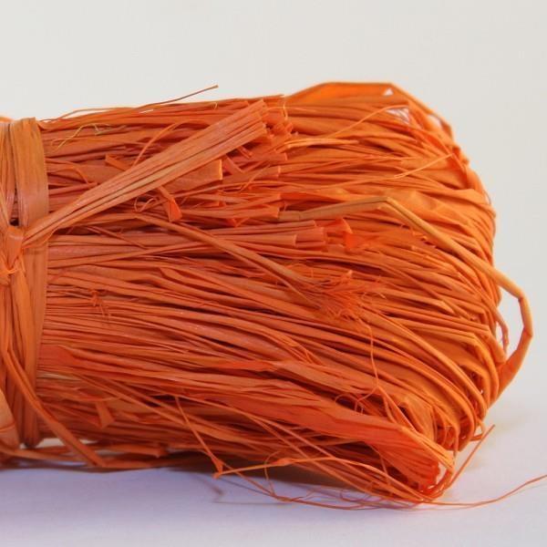 Rafia naturalna 50g pomarańczowa MAILDOR
