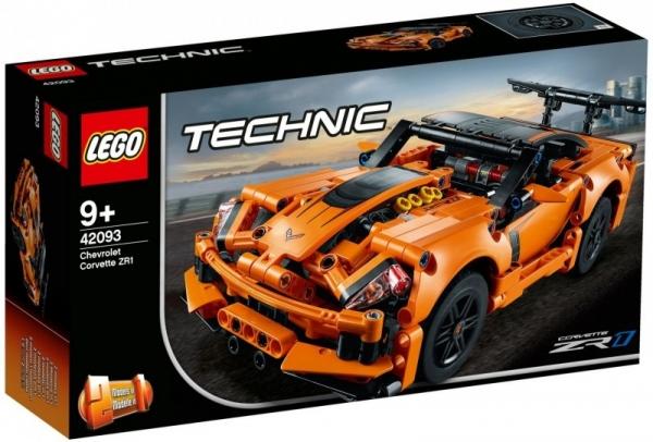 Klocki Technic Chevrolet Corvette ZR1 (42093)