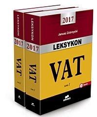 Leksykon VAT 2017 T.1 i 2 Zubrzycki Janusz