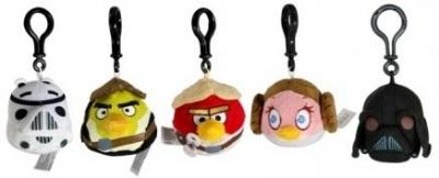 Angry Birds Star Wars Pluszowy brelok (CAB93158)