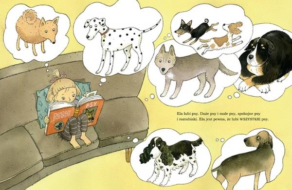 Wszystkie psy Eli Kruusval Catarina