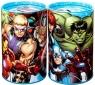 Skarbonka metalowa okrągła Avengers