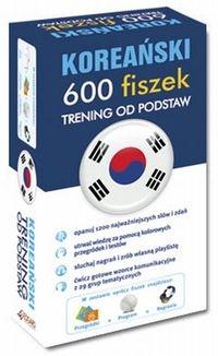Koreański 600 fiszek Trening od podstaw + CD
