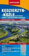 Plan miasta - Kędzierzyn-Koźle (powiat) 1:20 000