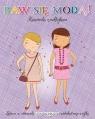 Baw się modą z naklejkami - Fioletowa