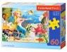 Puzzle Little Mermaid 60 elementów (06588)