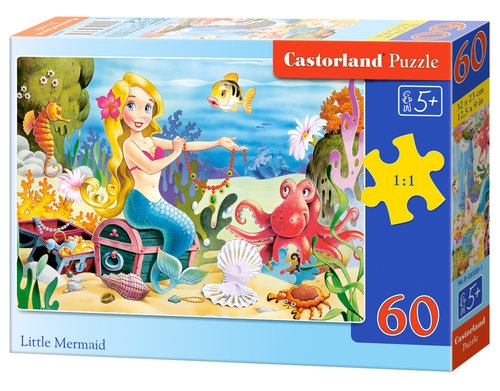 Puzzle Little Mermaid 60 elementów (06588)