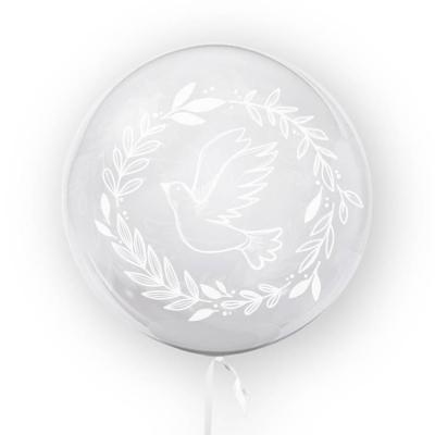 Tuban, balon 45 cm - Gołąb, biały (TU 3703)