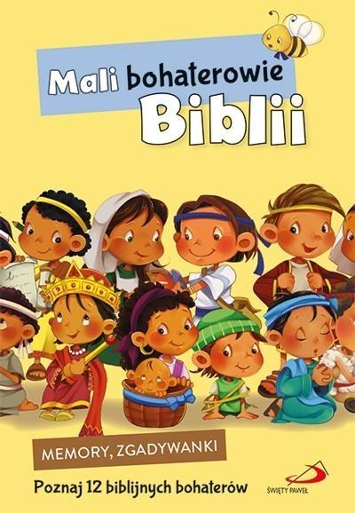 Gra memory i zgadywanki. Mali bohaterowie Biblii praca zbiorowa