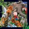 Magnes 3D Dzikie Zwierzęta