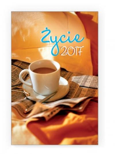 Kalendarz 2017 kieszonkowy - Życie 3 kawa