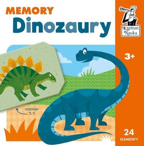 Dinozaury. Memory. Kapitan Nauka