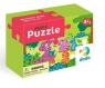 Puzzle Mini 35: Dino i przyjaciele (DOP300281)