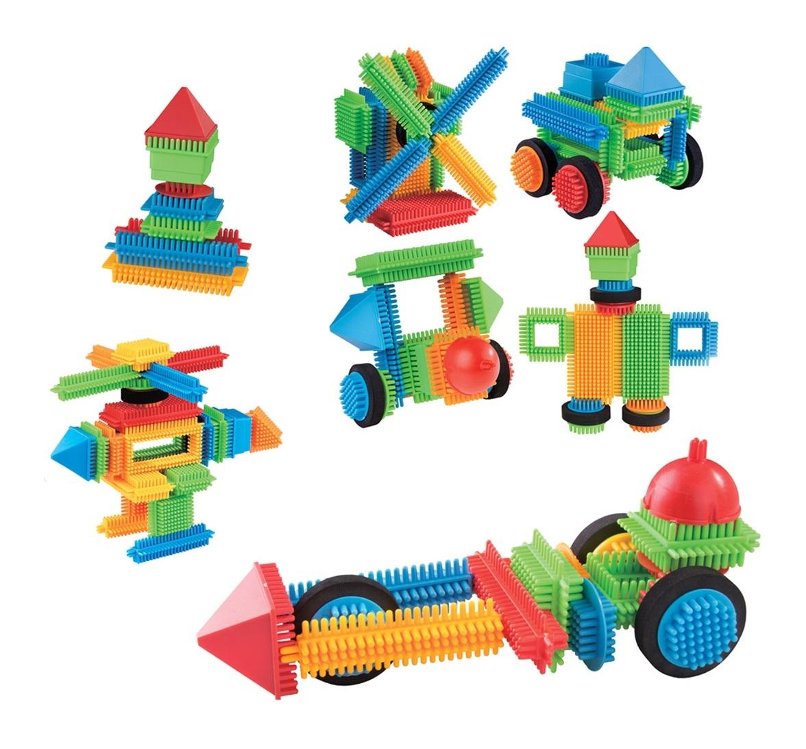 Klocki małych geniuszy - Jeżyki, 46 elementów (112589)