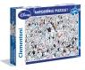 Puzzle 1000: Impossible Puzzle! - 101 Dalmatyńczyków (39358)