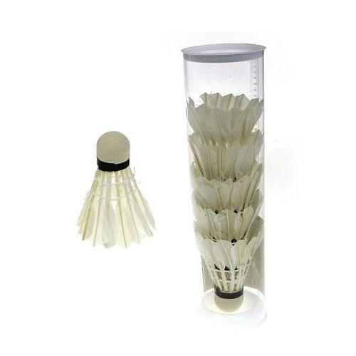 Lotka do badmintona Hipo z piór, 6 szt. (439448)