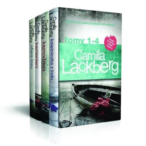 Księżniczka z lodu / Kaznodzieja / Kamieniarz / Ofiara losu Lackberg Camilla