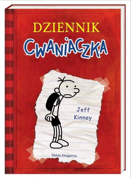 Dziennik cwaniaczka. Tom 1 (Uszkodzona okładka) Kinney Jeff