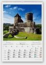 Kalendarz 2015 Zamki i pałace polskie