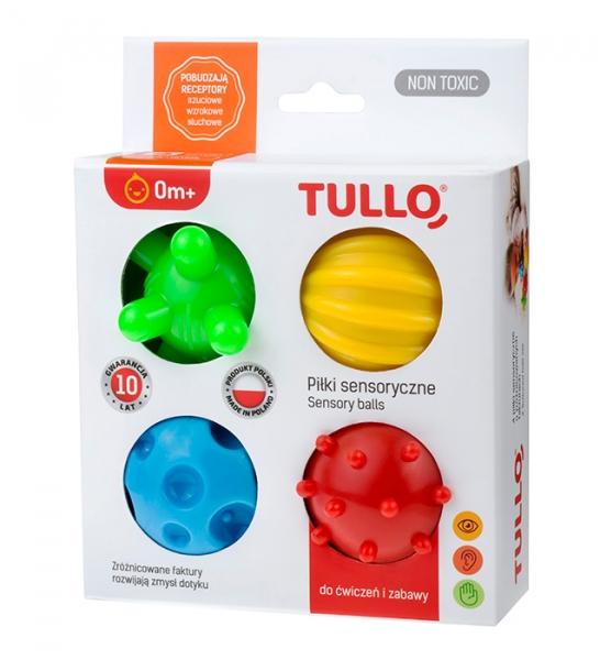 Piłki sensoryczne 4 szt. (459)