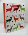 Torebka świąteczna płaska duża mix wzorów