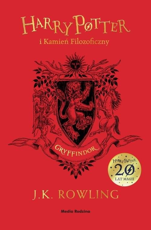 Harry Potter i kamień filozoficzny. Tom 1. Gryffindor Rowling Joanne K.