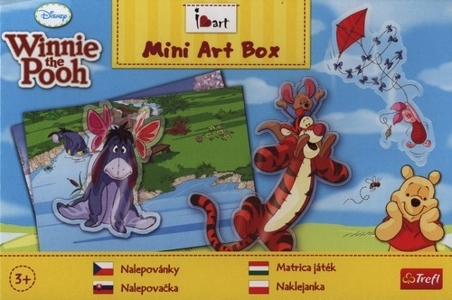Mini Art Box Naklejanka Kubuś Puchatek  (20059)