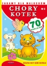 Zabawy dla maluchów Chory kotek