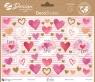Naklejki dekoracyjne - serca (54559)