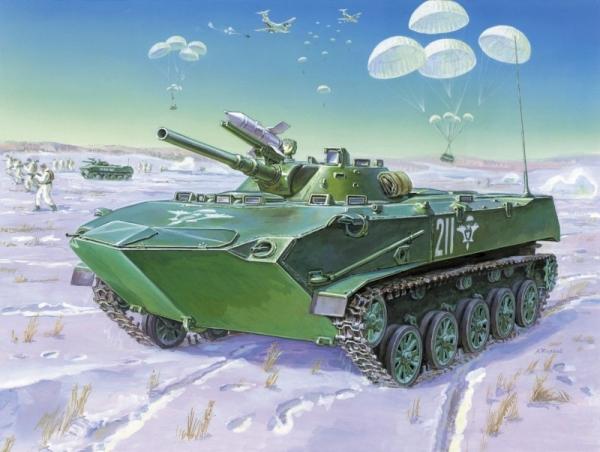 BMD-1 Soviet airborne fighting vehicle (3559)
