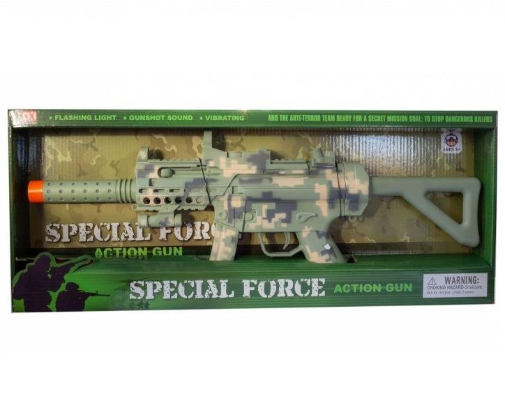 Karabin Special Force z latarką (110592)
