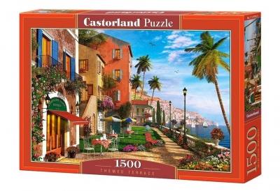 Puzzle 1500 Themed Terrace CASTOR