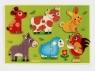 Puzzle drewniane Zwierzęta z łąki