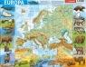 Puzzle ramkowe 72: Europa, mapa fizyczna