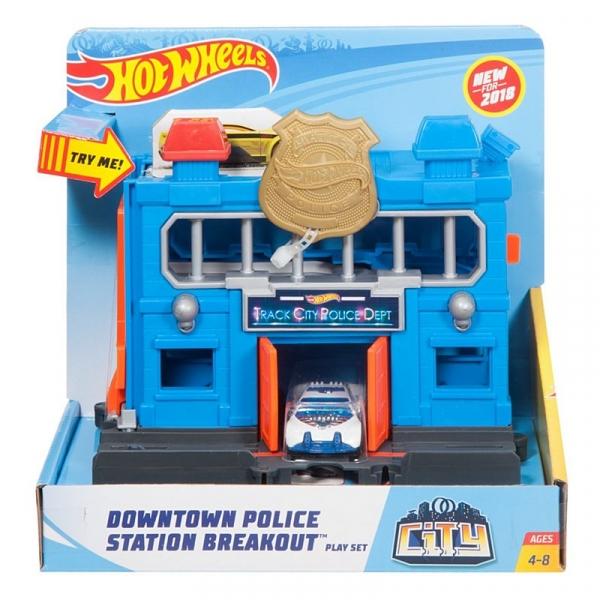 Hot Wheels City: Odjazdowy Posterunek Policji (FRH28/FRH33)