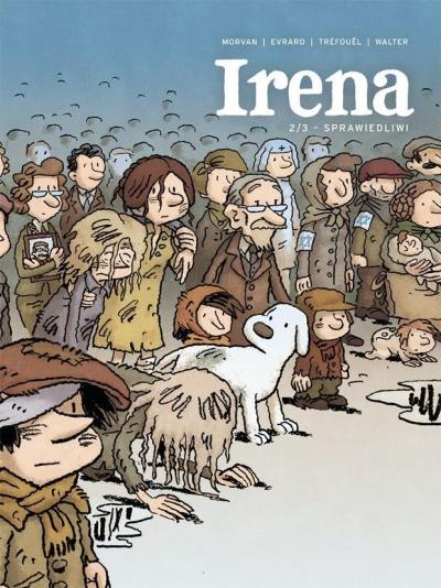 Irena T.2 Sprawiedliwi (Uszkodzona okładka) Jean-David Morvan, Severine Trefouel, David Evrard