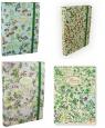 Teczka kartonowa z gumką B4 Pigna Nature Flowers grzbiet 3 cm mix wzorów