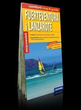Fuerteventura i Lanzarote 2w1 mapa+przewodnik praca zbiorowa