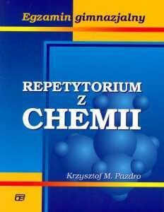 Repetytorium z chemii Egzamin gimnazjalny Pazdro Krzysztof M.