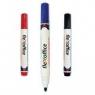 Marker flexoffice czarny FO-WB03.90 do tablic suchościeralnych bezwonny łatwy MPM-QUALITY