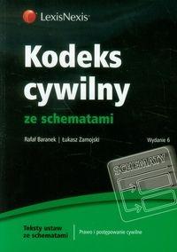 Kodeks cywilny ze schematami Baranek Rafał, Zamojski Łukasz