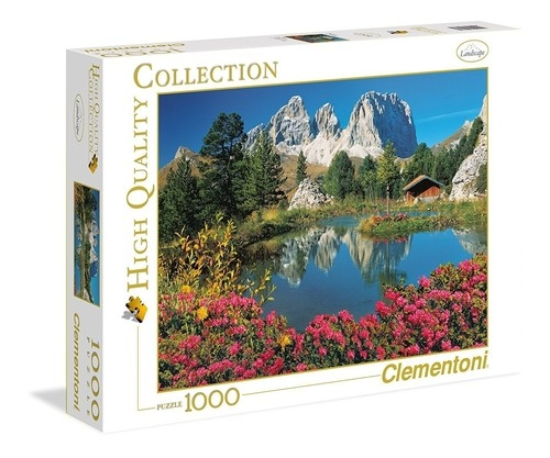 Puzzle High Quality Collection Passo Pordoi 1000