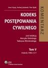 Kodeks postępowania cywilnego Komentarz Tom 5 Artykuły 1096 - 1217 Hrycaj Anna, Jakubecki Andrzej, Rylski Piotr