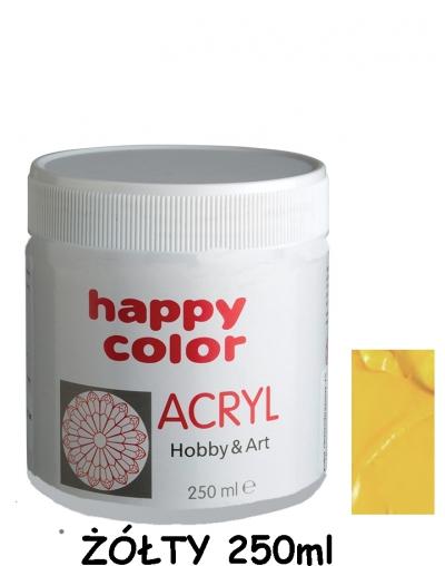 Farba akrylowa 250ml żółty (7370 0250-1)